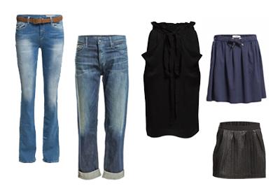 H vartalolle sopivat vaatteet Sopimo